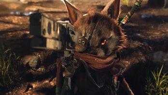BIOMUTANT THQ NORDIC Gun RAcoon cat