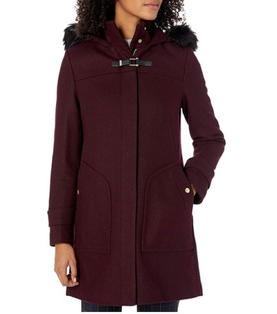 Cole Haan Women's Wool Duffel Coat