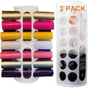 Lunies Wall Mount Bag Dispenser (2-Pack)