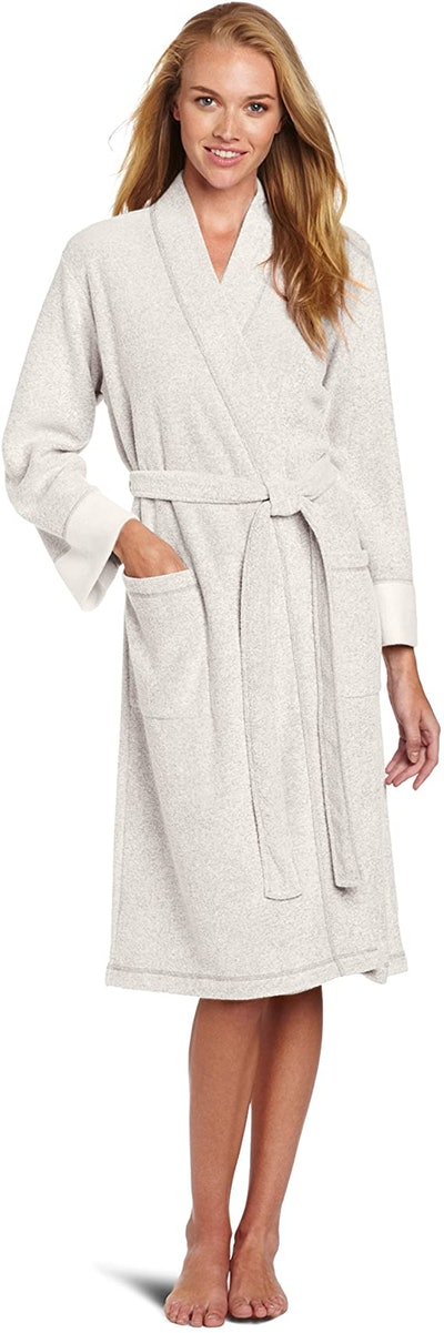 N Natori Nirvana Brushed Terry Bathrobe Robe