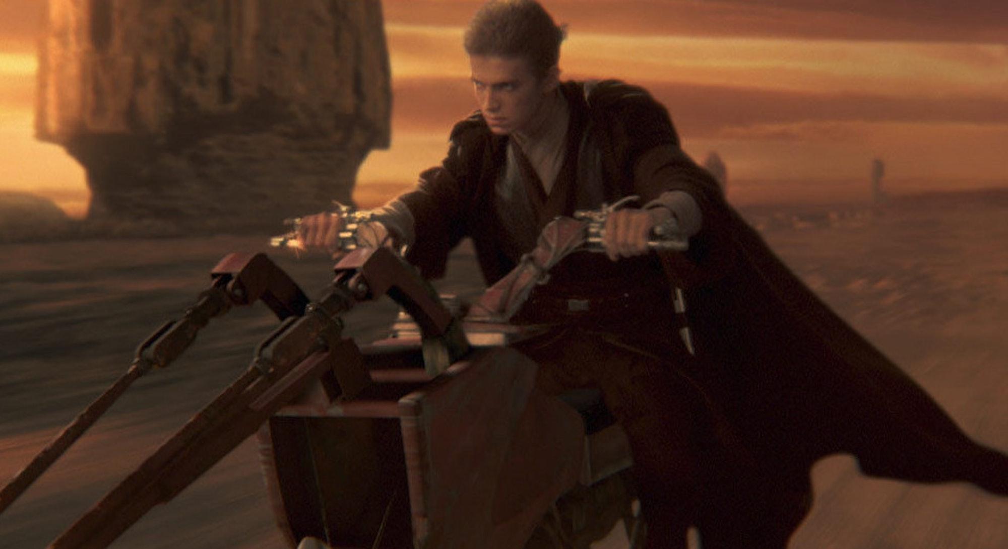 anakin skywalker attack of the clones star wars