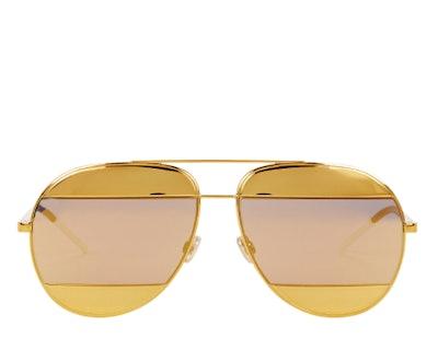 Dior DiorSplit1 Aviator Sunglasses