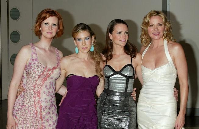 Cynthia Nixon, Sarah Jessica Parker, Kristin Davis and Kim Cattrall
