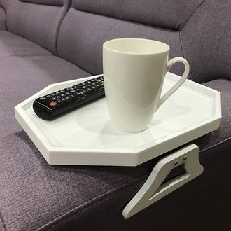 Emoson's Armrest Clip-On Wooden Table