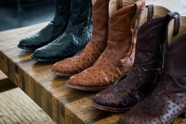Tecovas boots.
