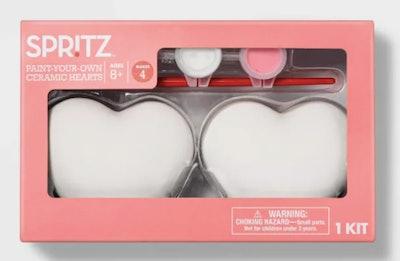 Paint Your Own Ceramic Hearts - Spritz™