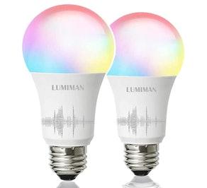 LUMIMAN Smart Light Bulb (2-Pack)