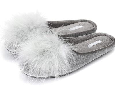 BCTEX COLL Velvet Memory Foam House Slippers