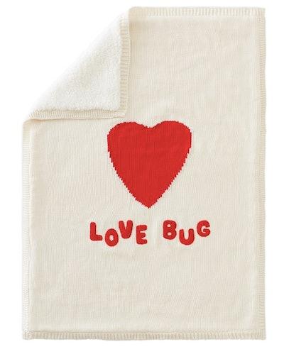 Love Bug Heirloom Baby Blanket