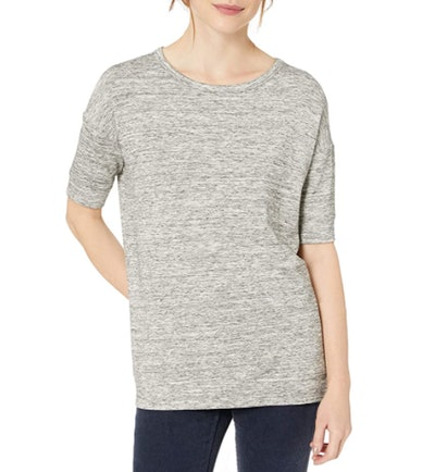 Daily Ritual Slouchy Short-Sleeve Sweatshirt