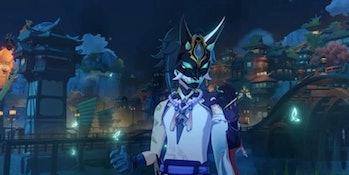 Xiao in Genshin Impact update 1.3