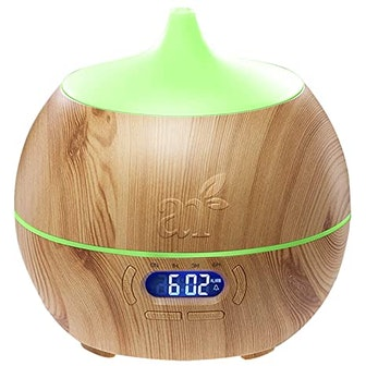 Artnaturals Essential Oil Diffuser and Humidifier with Bluetooth Speaker Clock