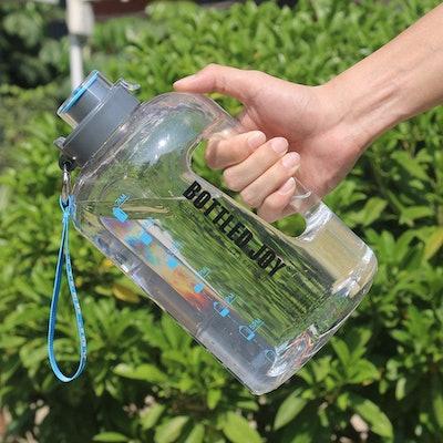 BOTTLED JOY Half Gallon Water Bottle