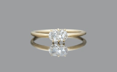 Diamond Calyx Ring