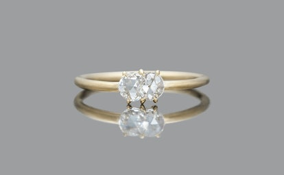 Diamond Calyx Ring