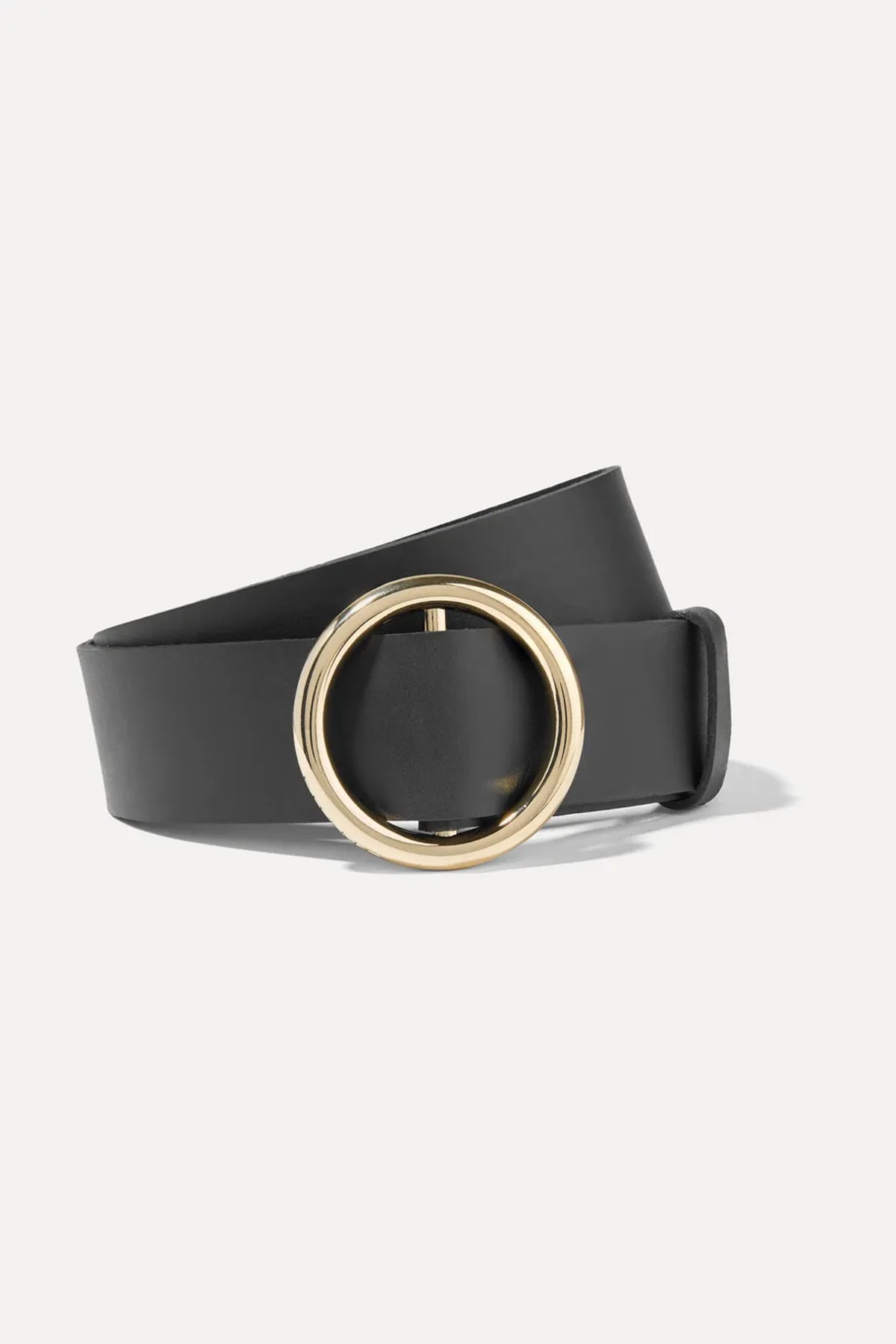 Le Circle Leather Belt