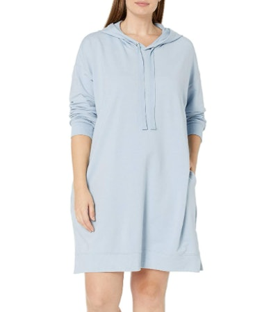 The Drop Iona Hooded Sweatshirt Dress