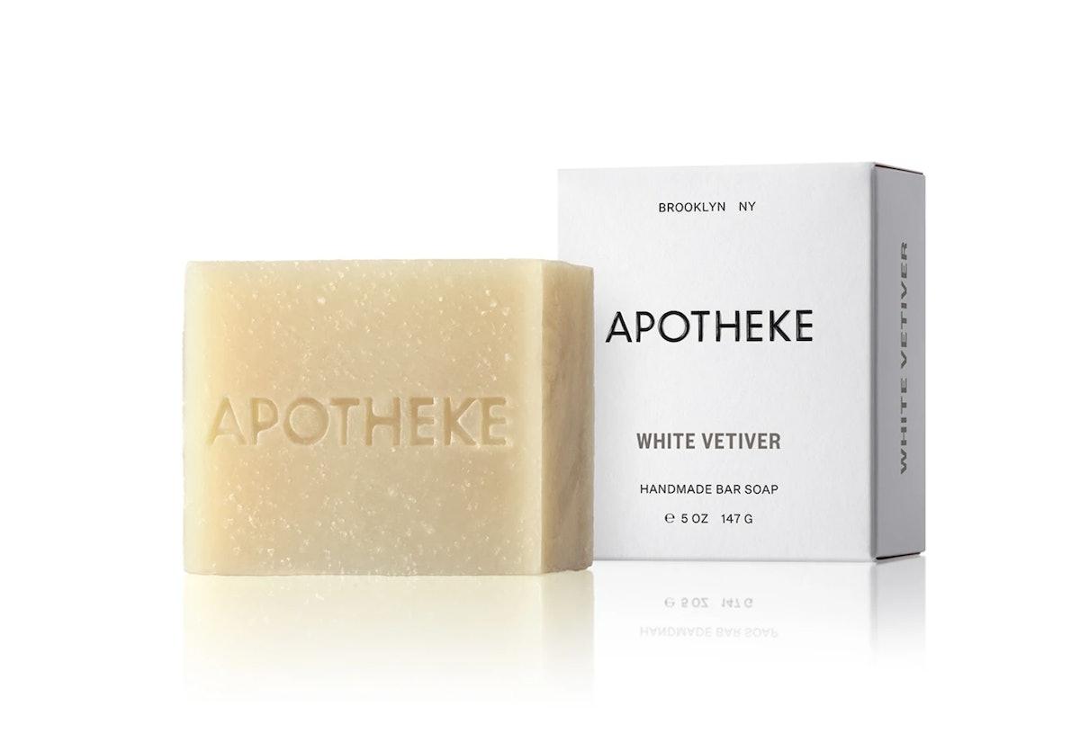 White Vetiver Bar Soap