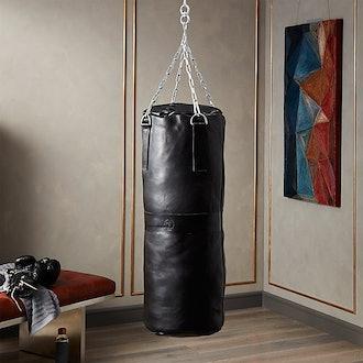 Executive Black Leather Punching Bag