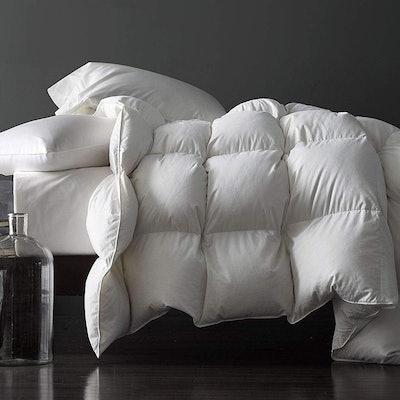 Royoliving Premium Silver Down Comforter, Queen