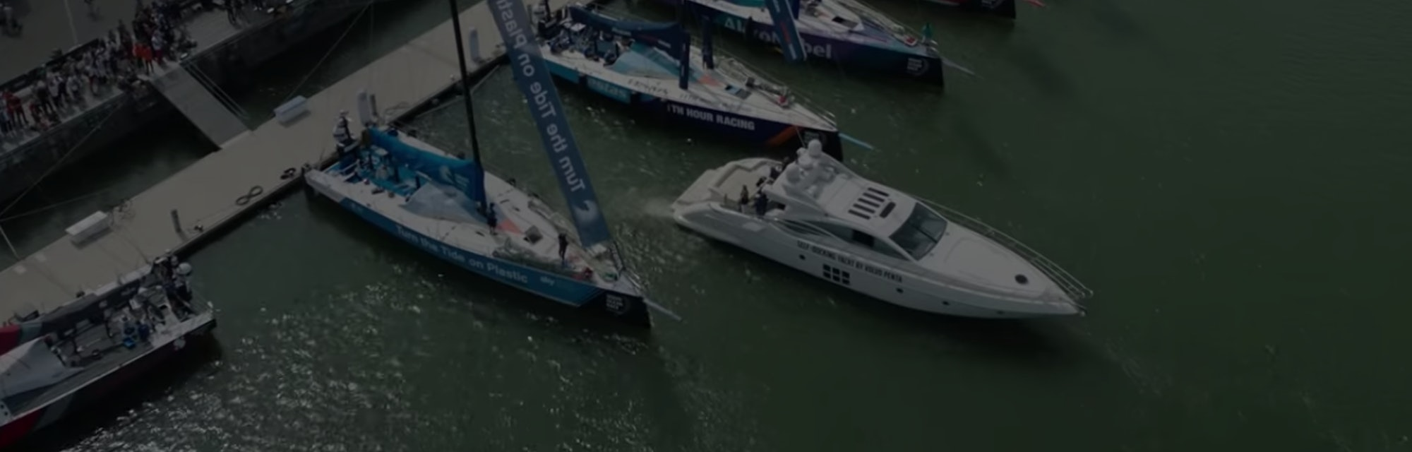 Volva Penta's Integrated Assisted Docking enables boats to dock autonomously.