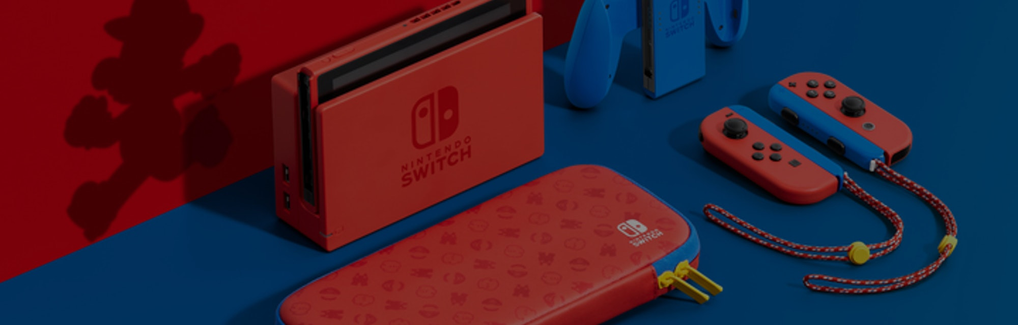 Nintendo's new Mario-themed Switch is the first new color option since 2017.