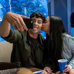 Noah Centineo and Lana Condor in 'To All the Boys I've Loved Before'
