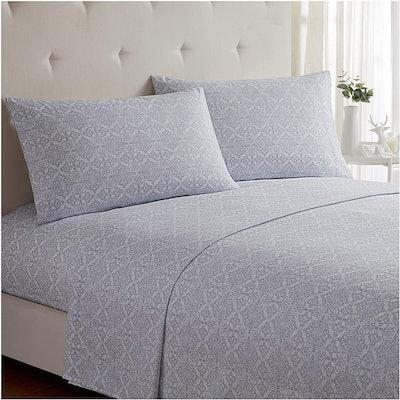 Mellanni Microfiber Bed Sheets (4-Pieces)