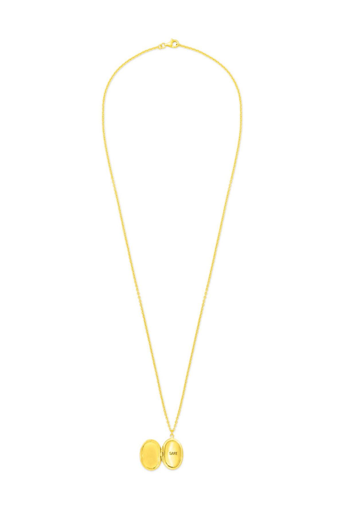 Safe Locket Necklace