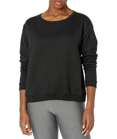 Hanes V-Notch Pullover Fleece Sweatshirt