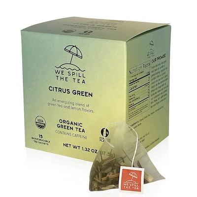 Organic Citrus Green Tea