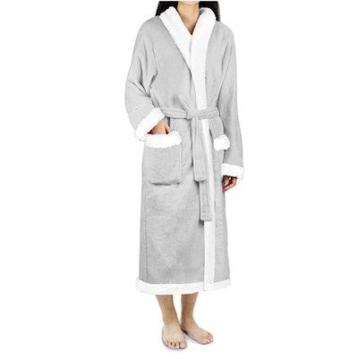 PAVILIA Fleece Robe