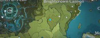 Brightcrown Canyon Lost Treasure Genshin Impact