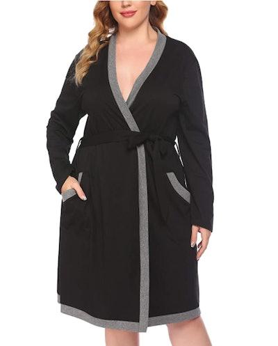 Mae Knit Wrap Robe