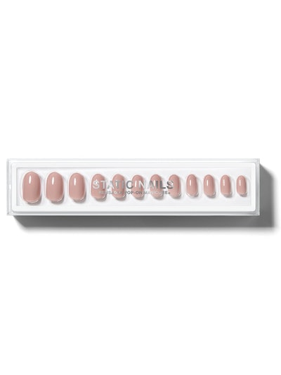 Peony Round Reusable Pop-On Manicure
