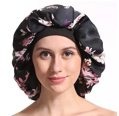 Enjoy Holiday 1981 Silk Bonnet Sleep Cap
