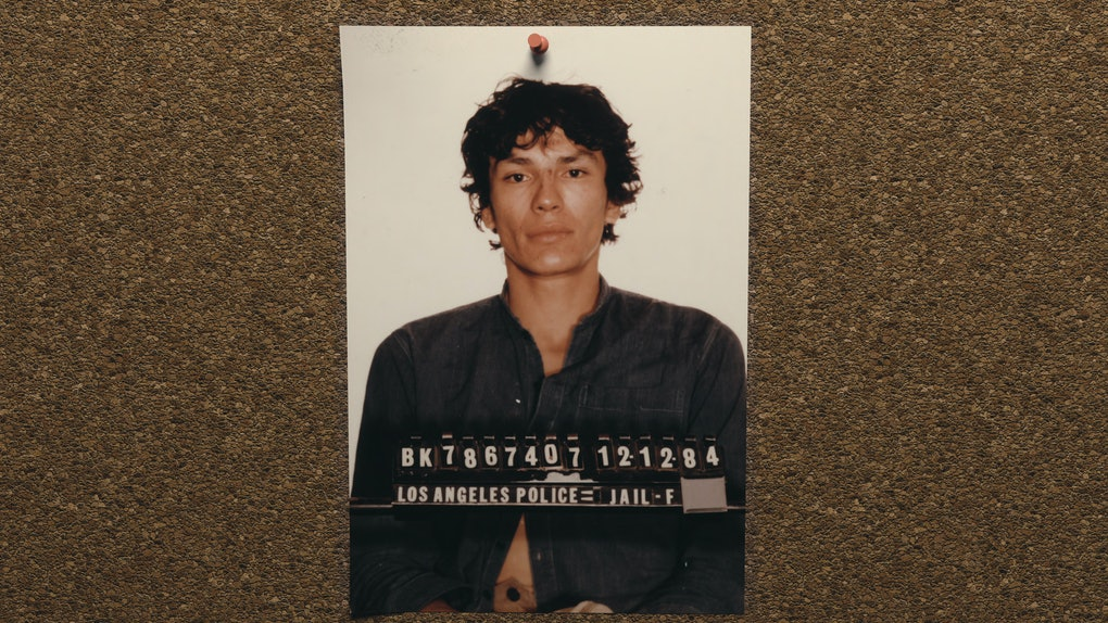 A still of Richard Ramirez from Netflix's Night Stalker: The Hunt for a Serial Killer.