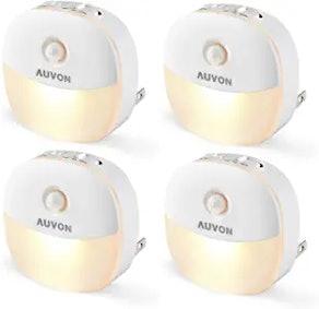 AUVON Plug-In LED Motion Sensor Lights