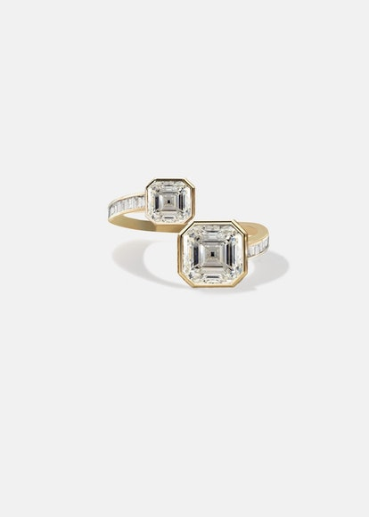 Duét Asscher Ring