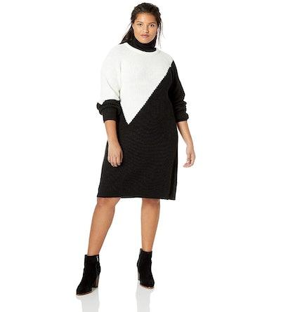 Vince Camuto Plus Size Colorblock Sweater Dress