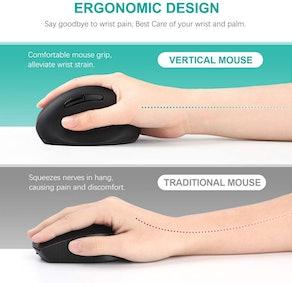 Jelly Comb Ergonomic Wireless Mouse