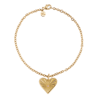 Pour Toujours Heart Anklet
