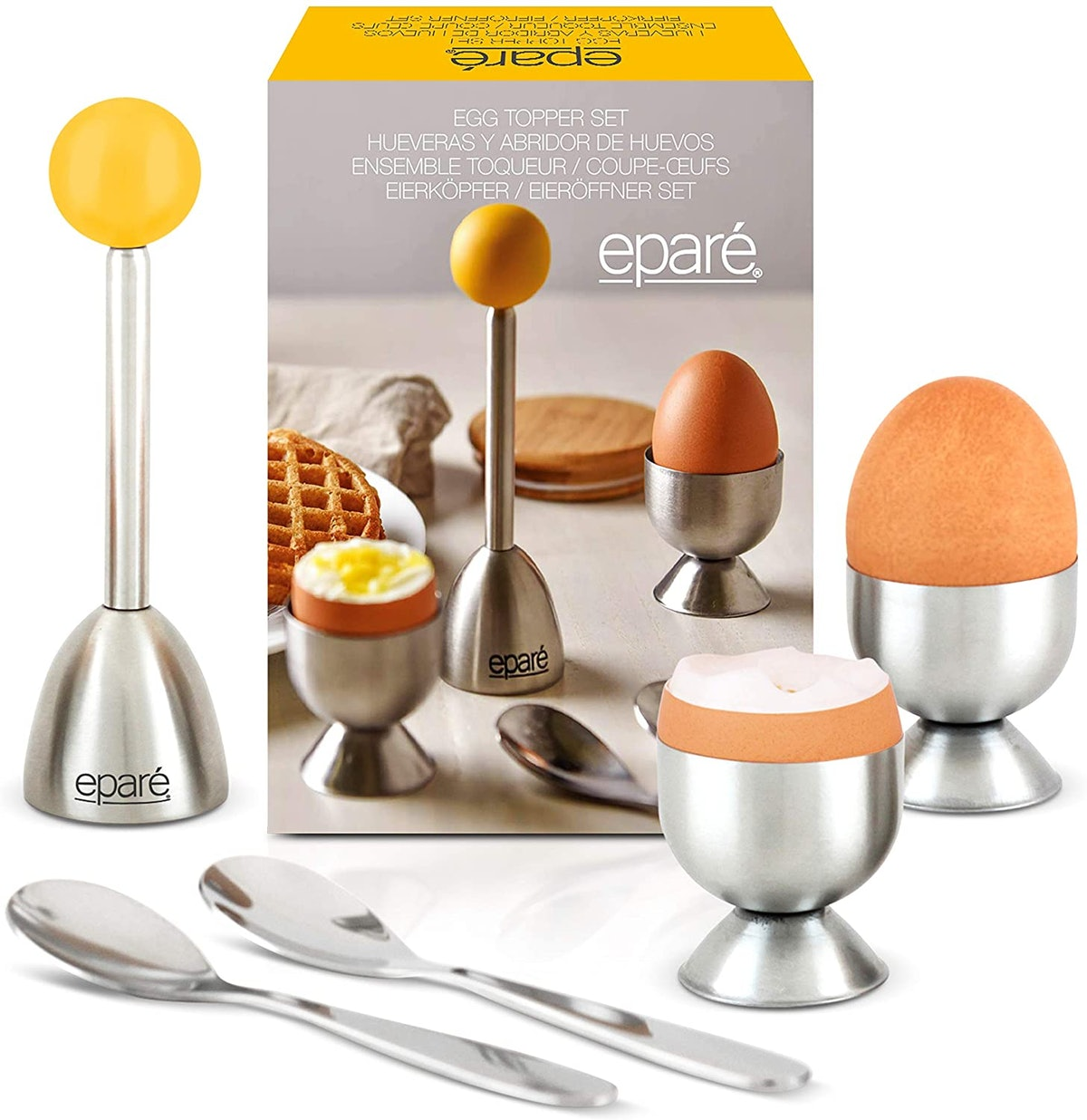 eparé Egg Cracker Topper Set (Set of 4)