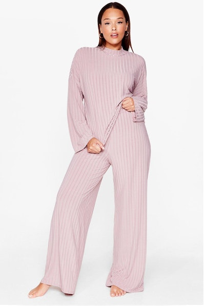 Chill Out Plus Wide-Leg Trousers Set