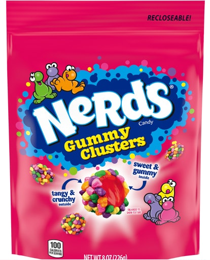 Nerds Gummy Clusters Candy Stand Up Bag, 8 oz
