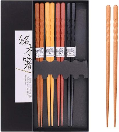 GLAMFIELDS Reusable Chopsticks (5-Pack)