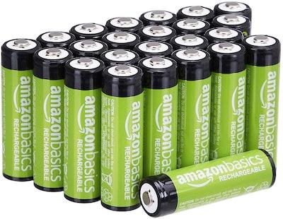 Amazon Basics Rechargeable AA Batteries (24-Pack)