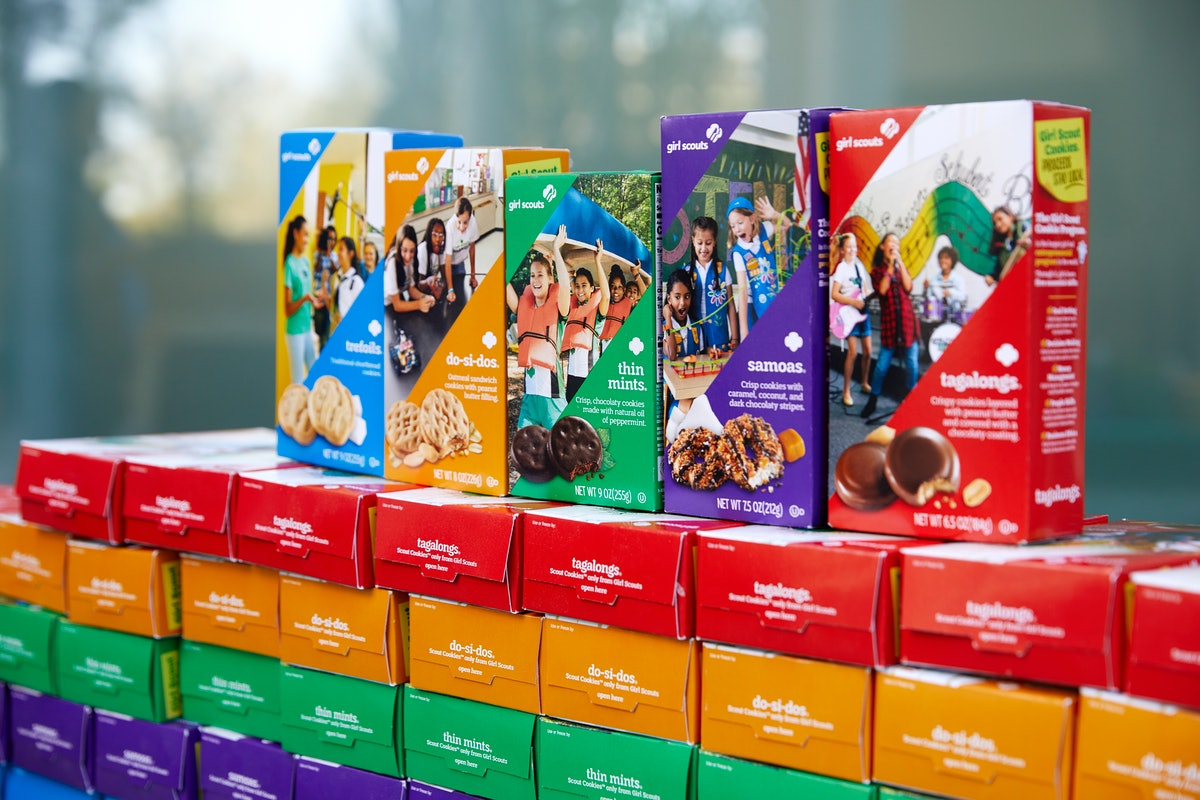 Here's how to get Girl Scout cookies delivered through Grubhub.