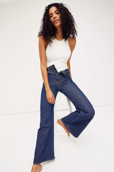 Wanderer High Rise Flare Jeans
