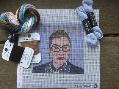 Notorious RBG Needlepoint kit for Adults